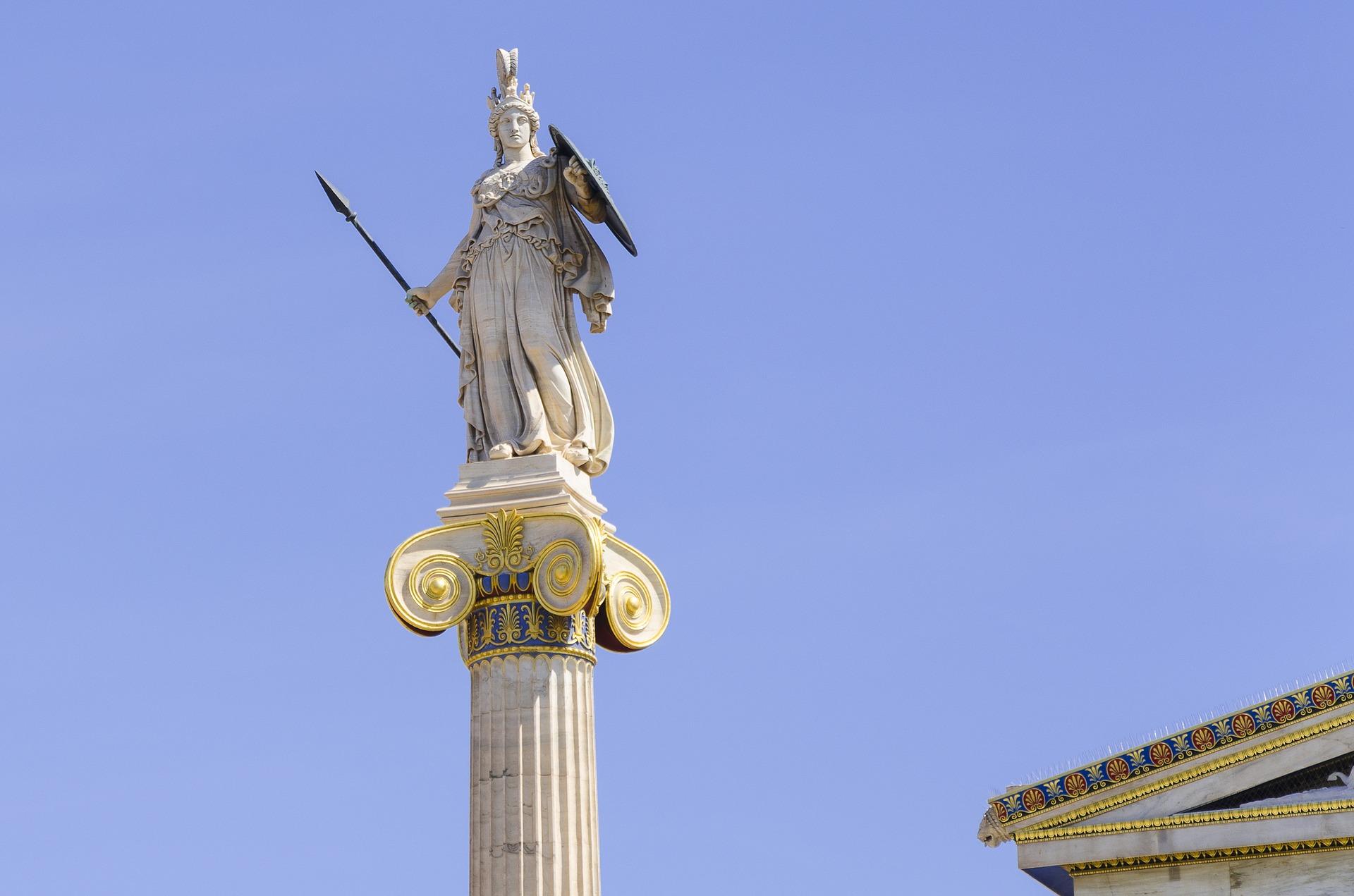 Hohes göttliches Wesen: Athene