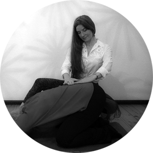 Beckenbodentraining von Donna Virtuosa an Teilnehmerin